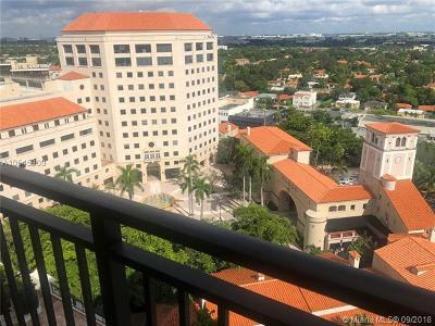 Coral Gables Condo For Sale: 888 S Douglas Rd #1605