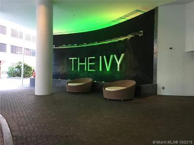 The Ivy, The Ivy At River Front, The Ivy At Riverfront, The Ivy Condo, The Ivy Condominium, The Ivy Riverfront Rental For Rent: 90 SW 3 St #1205