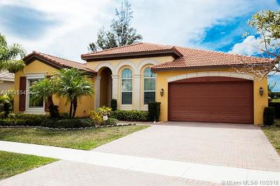 Royal Palm Beach Single Family Home For Sale: 2347 Bellarosa Cir