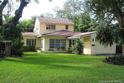 Coral Gables Single Family Home Pending Sale: 1250 Mendavia Ave