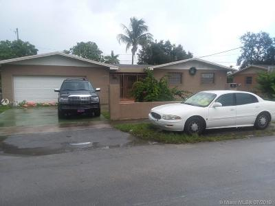 Miami Gardens Single Family Home Active With Contract: 3221 NW 212th St
