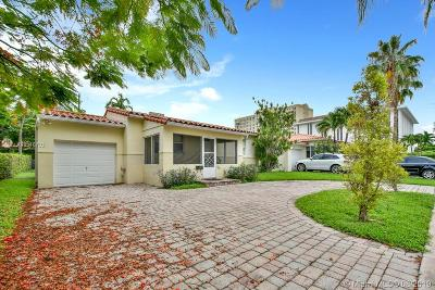 Coral Gables Single Family Home For Sale: 21 Palermo Ave