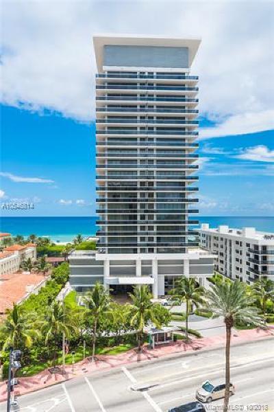 Miami Beach Condo For Sale: 5875 Collins Ave #1808