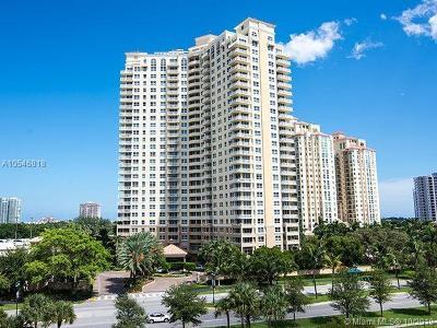 Miami-Dade County Condo For Sale: 19501 W Country Club Dr #2112