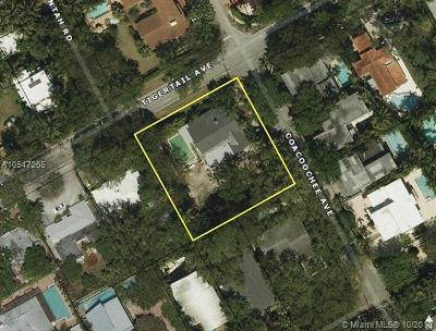 Coconut Grove Single Family Home For Sale: 3210 Coacoochee