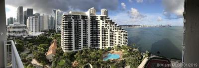 Miami Condo For Sale: 770 Claughton Island Dr #1903