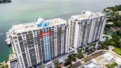 Miami Beach Condo For Sale: 1800 Sunset Harbour Dr. #2407