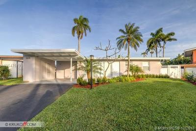 Fort Lauderdale Single Family Home For Sale: 2678 Marathon Ln