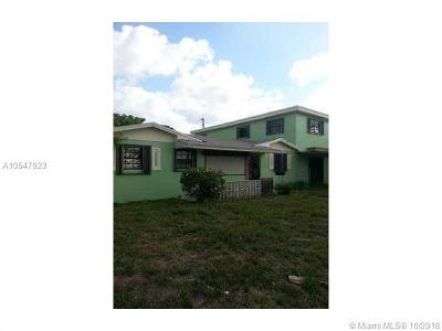Miami Gardens Single Family Home For Sale: 3110 NW 213 St