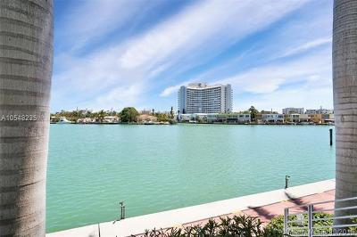 Miami Beach Condo For Sale: 187 N Shore Dr #187-1