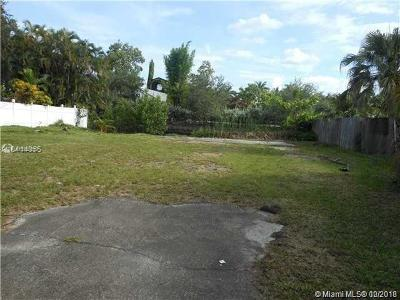Broward County Residential Lots & Land For Sale: 47 SW Ct
