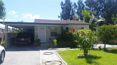 Delray Beach Single Family Home Active With Contract: 601 NE 3rd Ave