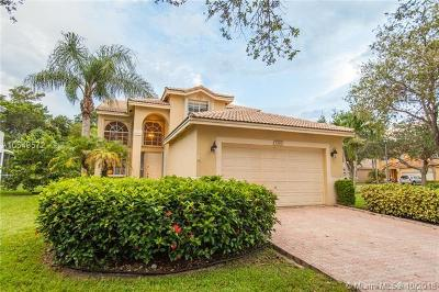 Coconut Creek Single Family Home For Sale: 5394 Osprey St