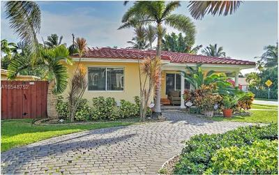 Hollywood Single Family Home For Sale: 1356 Madison St