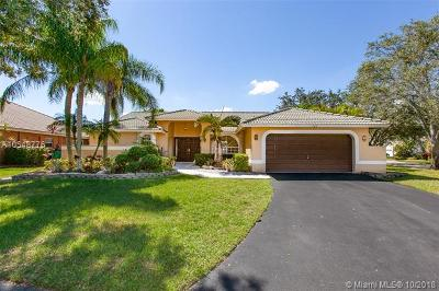 Coral Springs Single Family Home For Sale: 100 SW 121st Way