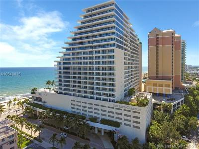 Fort Lauderdale Condo For Sale: 1 N Fort Lauderdale Beach Blvd #2003