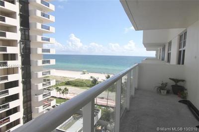 Miami Beach Condo For Sale: 5701 Collins Ave #917