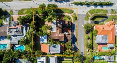 Miami Beach Single Family Home For Sale: 5465 La Gorce Dr