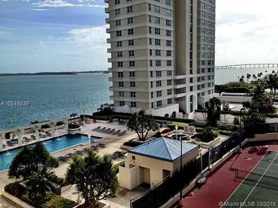 Miami Condo For Sale: 770 Claughton Island Dr #806
