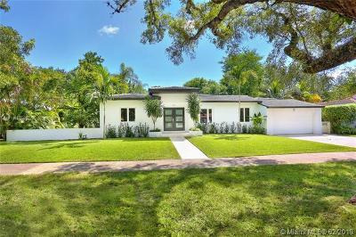 Coral Gables, South Miami Single Family Home For Sale: 824 Anastasia Ave