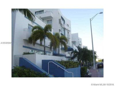 Miami Beach Rental Leased: 7600 Collins Ave #608