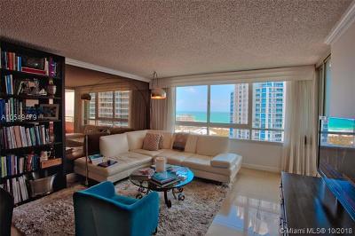 Miami Beach Condo For Sale: 400 S Pointe Dr #1602