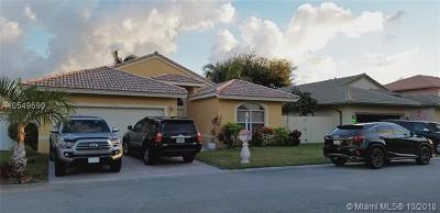 Pembroke Pines Single Family Home For Sale: 11540 SW 9th Ct