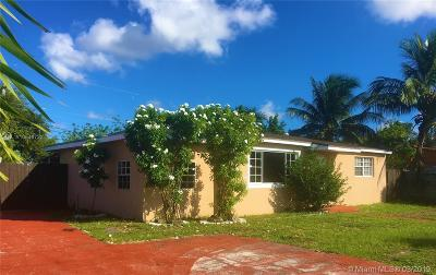 Miami Gardens Single Family Home For Sale: 17011 NW 37th Ave