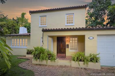 Coral Gables Single Family Home For Sale: 1507 Tunis St