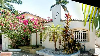 Miami Beach Single Family Home For Sale: 4329 N Bay Rd