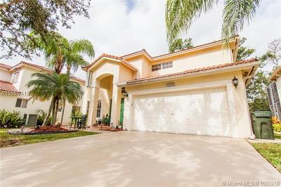 Coconut Creek Single Family Home For Sale: 6192 Osprey Ter