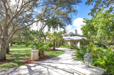 Palmetto Bay Single Family Home For Sale: 6895 S Cartee Rd