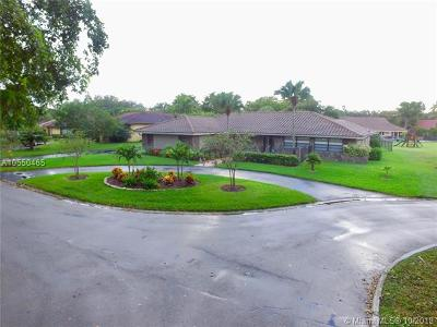 Coral Springs Single Family Home For Sale: 10315 NW 3rd