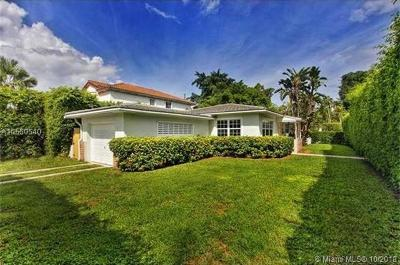Coral Gables Single Family Home For Sale: 3934 Riviera Dr