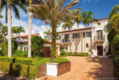 Coral Gables Single Family Home For Sale: 715 Sevilla Ave