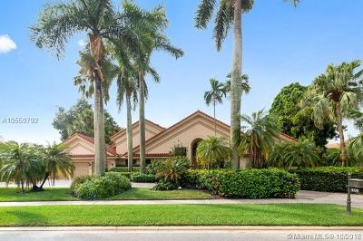 Boca Raton Single Family Home For Sale: 4335 Bocaire Blvd