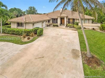 Davie Single Family Home For Sale: 11925 SW 15th Ct
