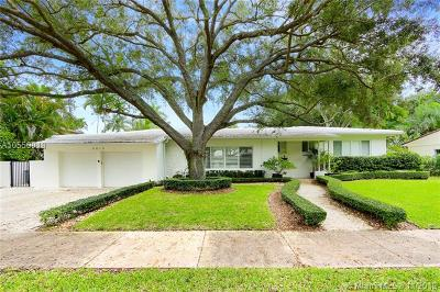 Coral Gables Single Family Home For Sale: 6815 Mindello St