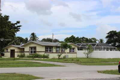 Fort Lauderdale Single Family Home For Sale: 496 W Melrose Cir
