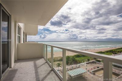 Miami Beach Condo For Sale: 5701 Collins Ave #912