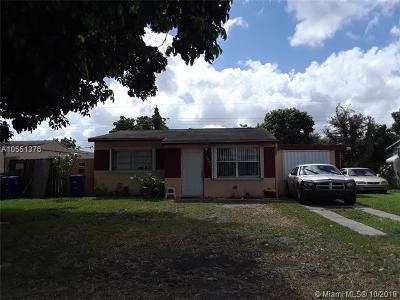 Miramar Single Family Home For Sale: 6510 SW 21st St