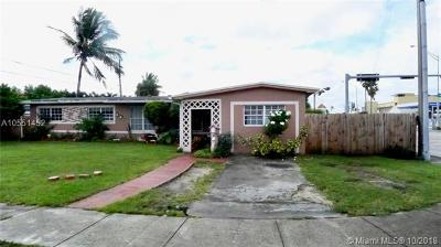 Hialeah Single Family Home For Sale: 1590 W 56th Pl