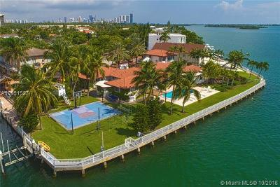 North Miami Single Family Home For Sale: 12600 Biscayne Bay Dr