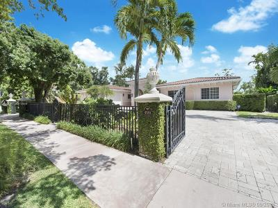Coral Gables Single Family Home For Sale: 4001 Santa Maria St