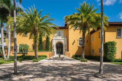 Coral Gables Single Family Home For Sale: 365 Arvida Pkwy