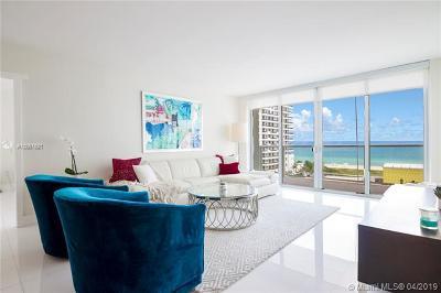 Miami Beach Condo For Sale: 5750 Collins Ave #8H