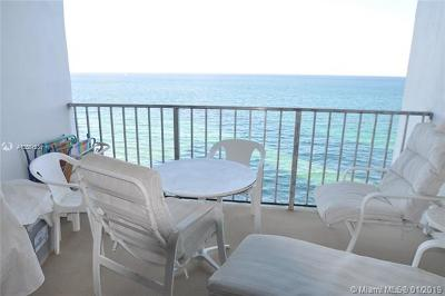Hollywood Condo For Sale: 2301 S Ocean Dr #1603