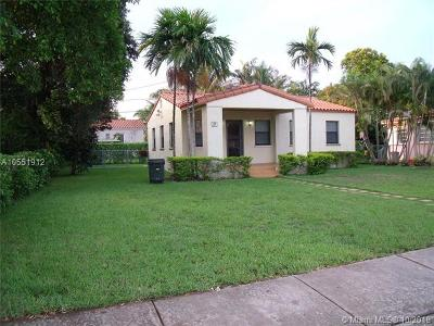 Coral Gables Single Family Home For Sale: 29 Alcantarra Ave