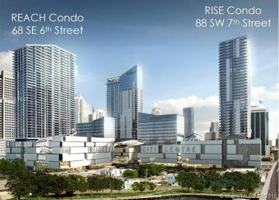 Brickell City Centre, Rise Brickell City, Rise Brickell City Center, Rise, Rise Condo, Rise Condominium Condo For Sale: 88 SW 7th St #805