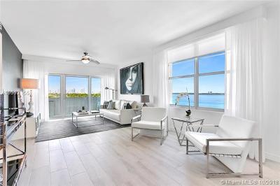 Miami Beach Condo For Sale: 3 Island Ave #9D